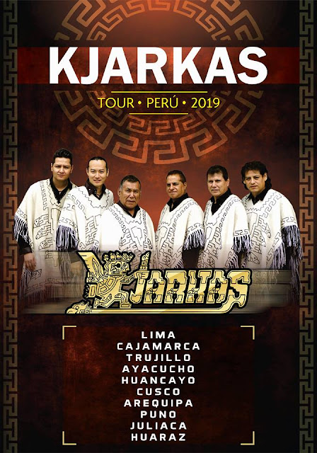 Los Kjarkas en Arequipa 2019