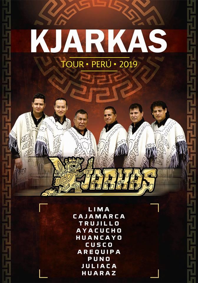 Los Kjarkas anuncia próximo concierto en Arequipa