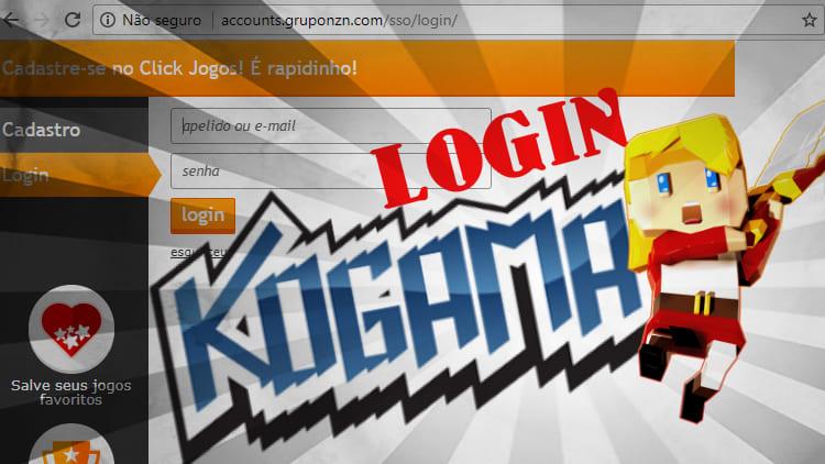 Resolvendo o problema pra fazer login no Kogama BR