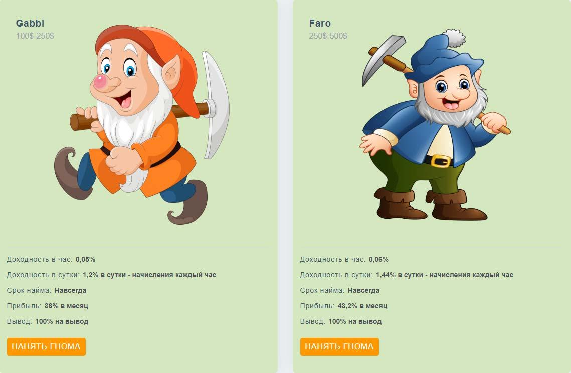 Инвестиционные планы Gnome-Game 3