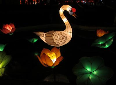 Lampion Fauna Taman Pelangi Jogja
