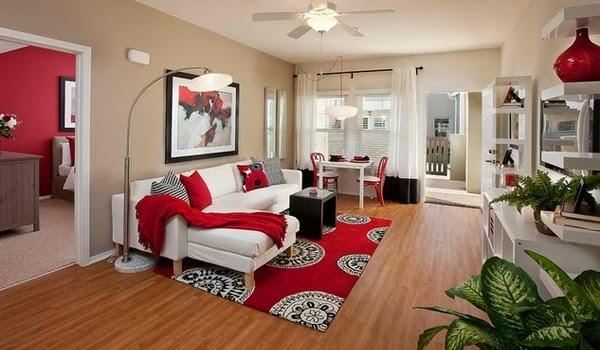 decoración sala apartamento pequeño