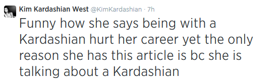 Messed Up Life Quotes: Welcome To Linda Ikeji's Blog: Kim K Lashes Out At