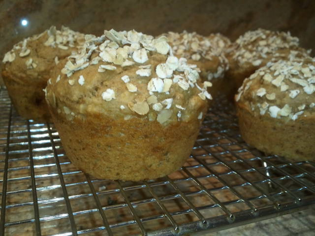 American Heart Applesauce Bran Muffin Served Up on Livliga