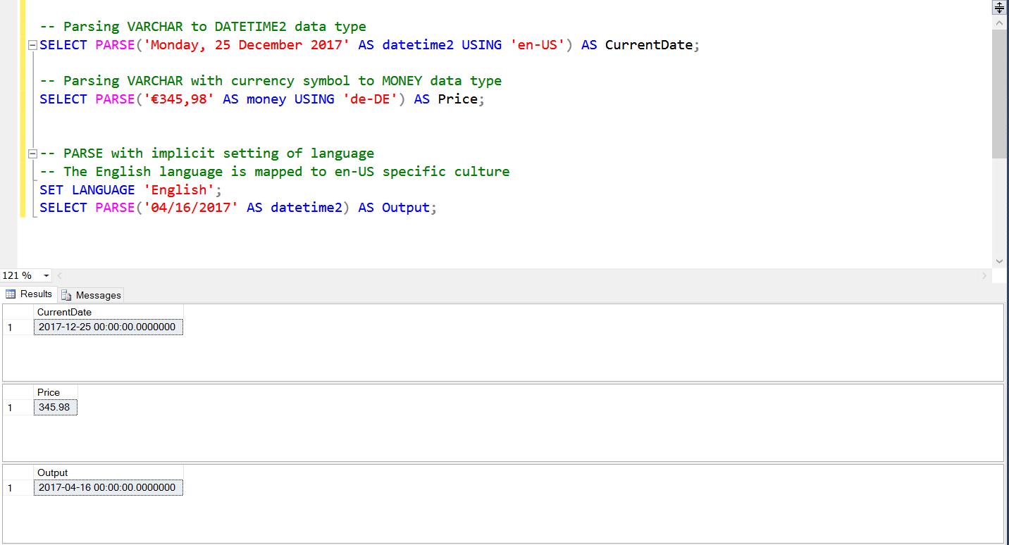 Cast Vs Convert P In Sql Server