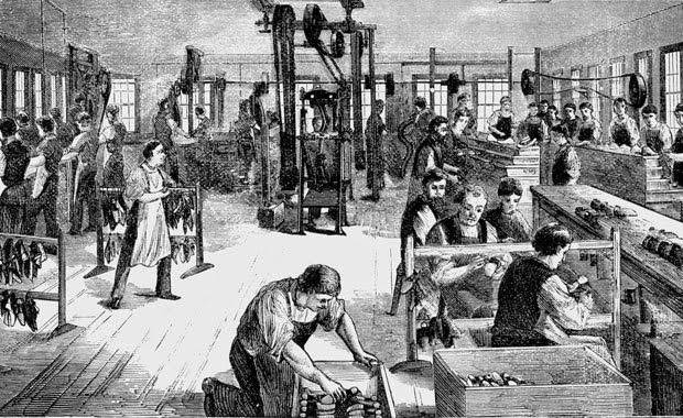 Effects of industrial revolution on economic field