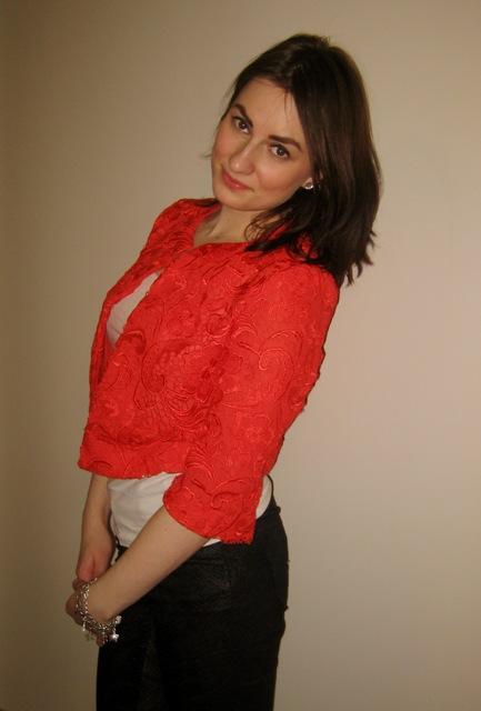 Orange Lace