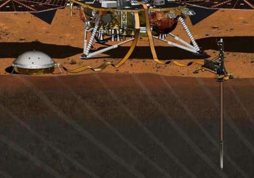 Tinuku.com NASA InSight setting to investigate interior of Mars