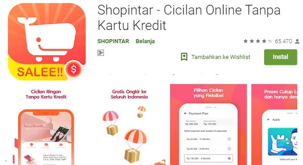 belanja online agar bisa kredit dengan bunga ringan