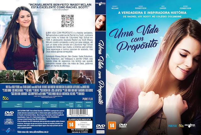 Capa DVD Uma Vida com Propósito [Custom]