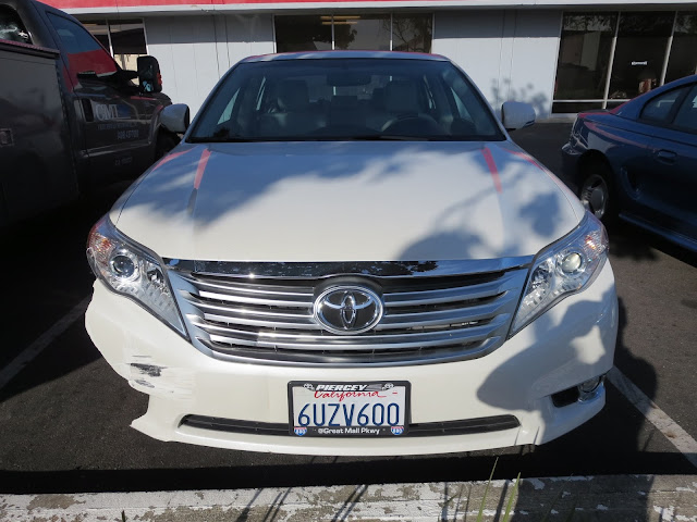 2012 Toyota Avalon before collision repairs at Almost Everything Auto Body