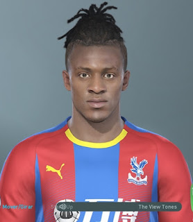 PES 2019 Faces Michy Batshuayi by Hugimen