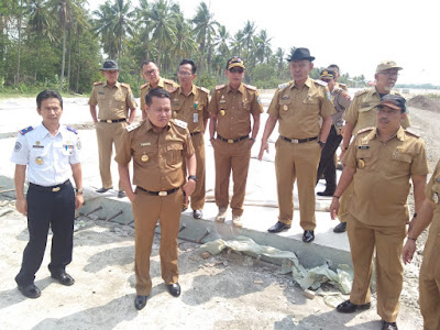 Wakil Bupati Pringsewu, Pesawaran dan Tanggamus Survey Jalur Akses Bandara dan Exit Tol Pringsewu