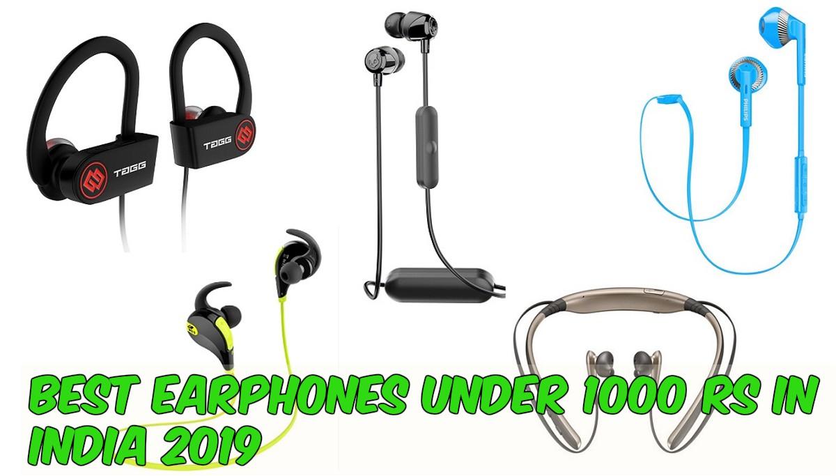 cebc11c7069 Best Earphones Under 1000 Rs In India 2019 - SMARTY TECH REVIEWS