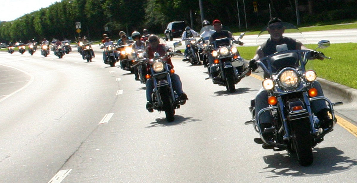 Group Of Motorcycles 70