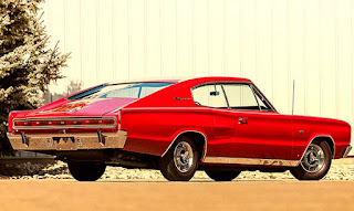 1966 Dodge Charger Hemi Rear