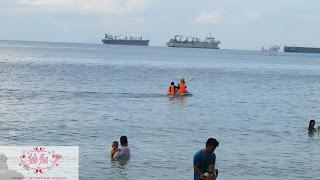 kayaking-di-piknik-di-Pantai-tanjung-pinggir-sekupang-Batam-kepri