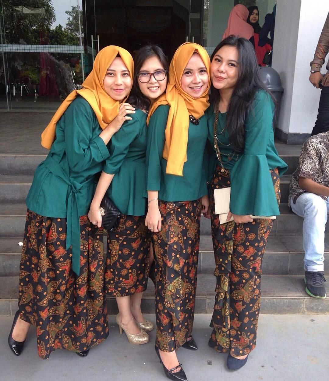 Model Kebaya Kutu Baru Muslim Modern | Model Baju dan