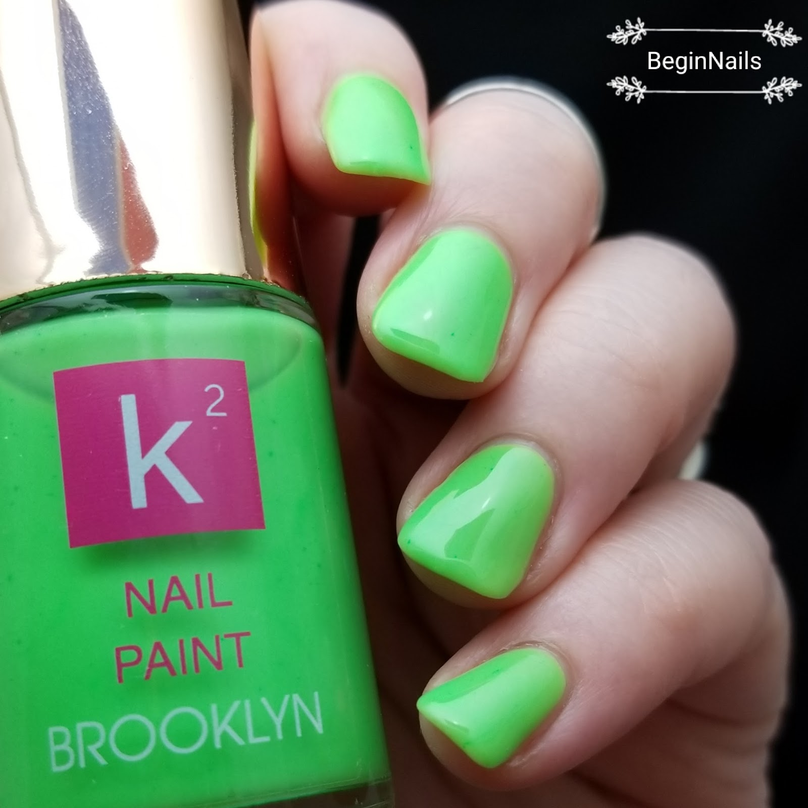 Let\'s Begin Nails: K Squared Nail Paint Swatch and Review