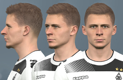 PES 2017 Faces Thorgan Hazard by WER Facemaker