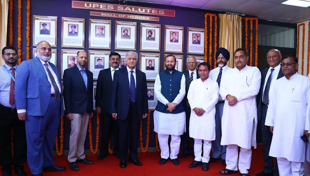 Wall of Army Heroes Unveiled at UPES