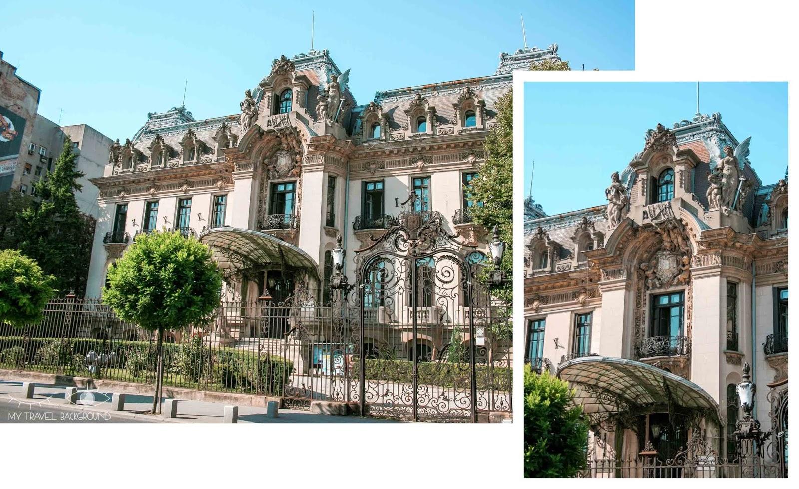 My Travel Background : 3 jours à Bucarest en Roumanie - Musée National George Enescu