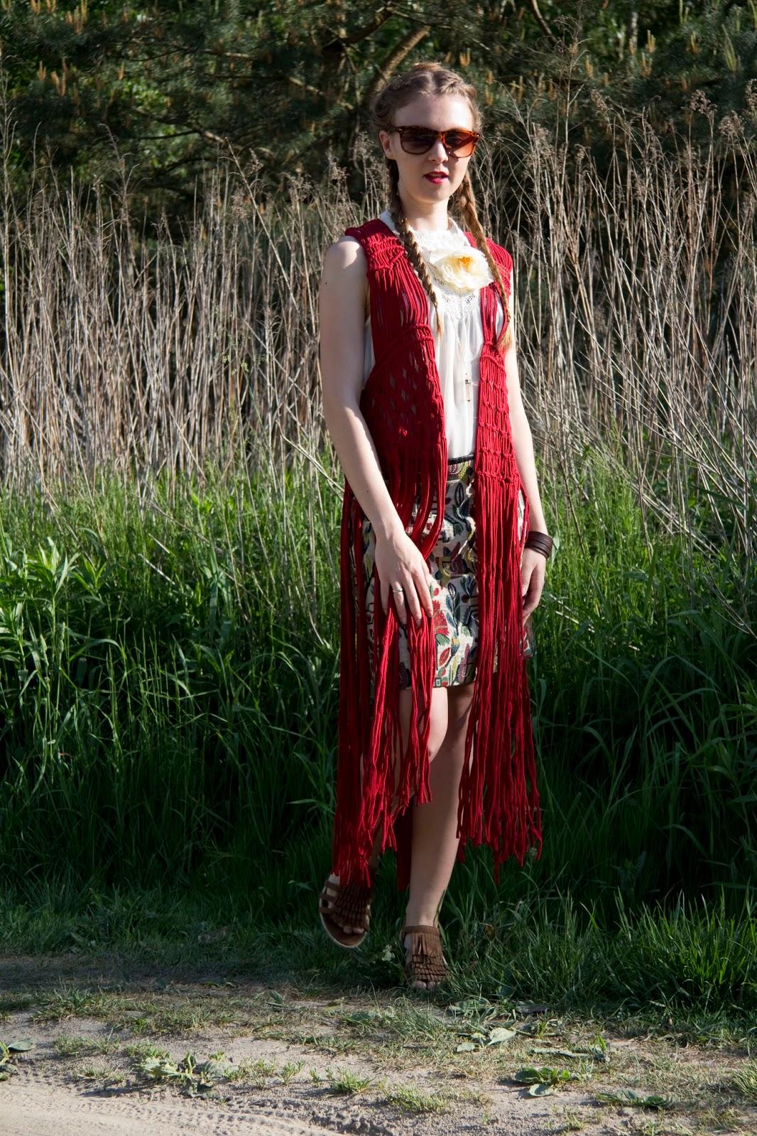 h&m boho #outfit
