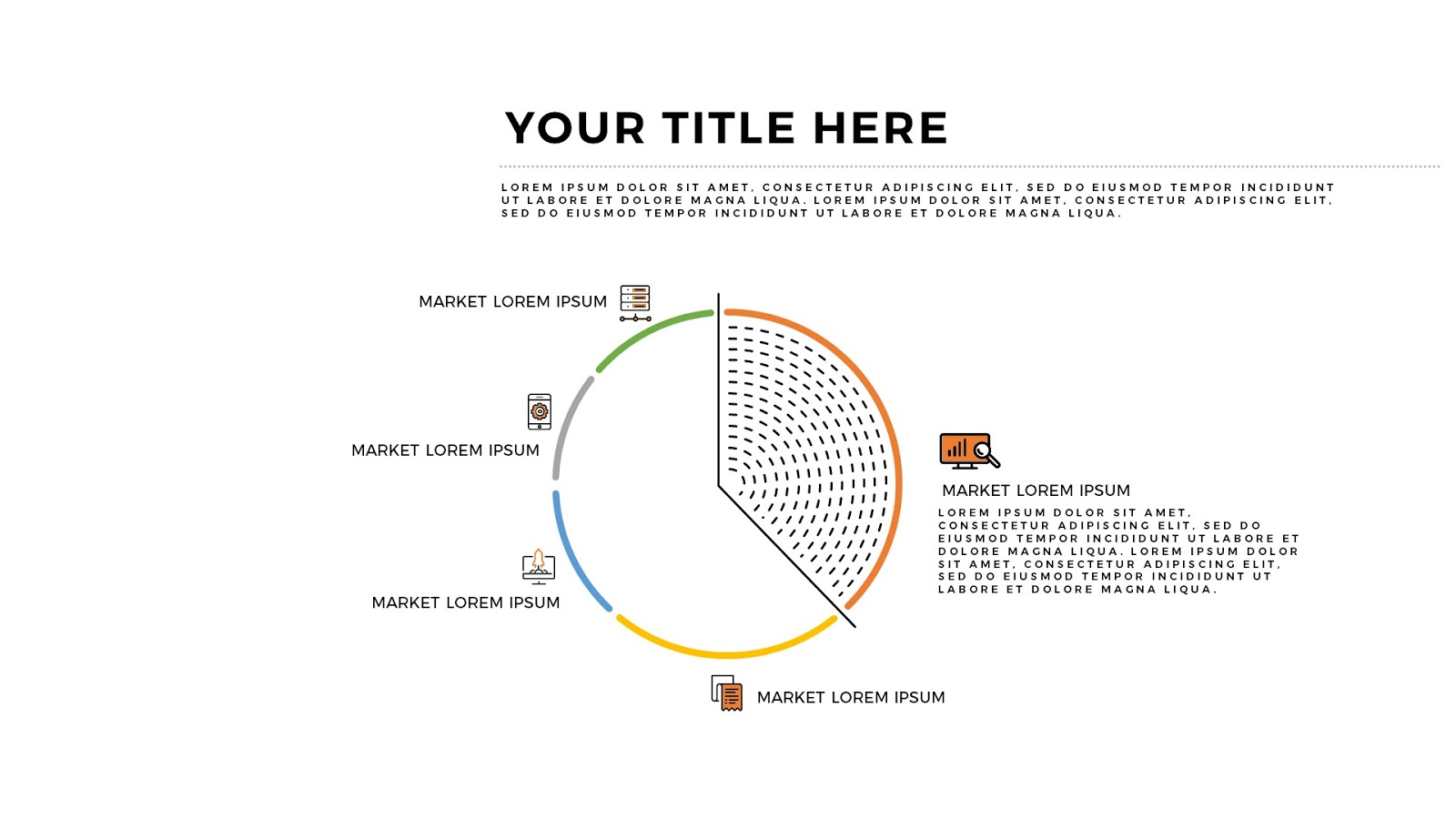 free infographic charts and analysis powerpoint template - infographicon, Umd Presentation Template, Presentation templates