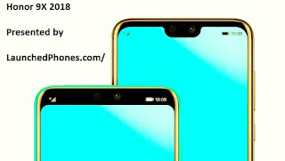 This latest Honor vociferation upwardly volition live rename of the  Honor 9X 2018 volition supersede the Honor 9i