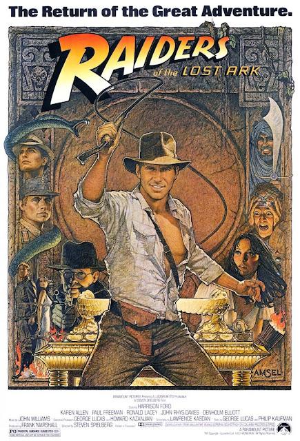 Póster original Indiana Jones en busca del Arca Perdida