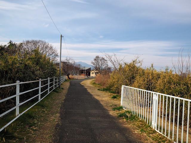 金目川サイクリングコース