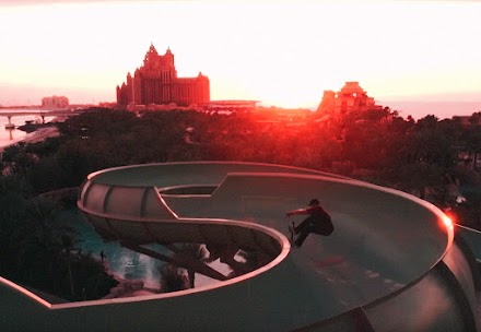 WATERPARK LOCKDOWN | MIT DEM SKATEBOARD DURCH DUBAIS ATLANTIS WASSERPARK