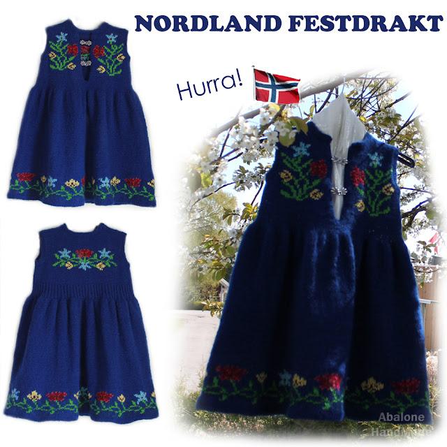 Festdrakt fra Nordland