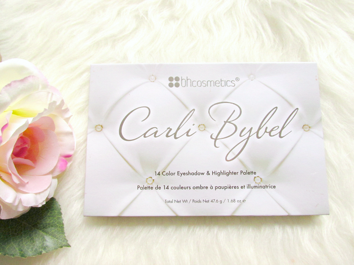 Review & Swatches: Carli Bybel Eyeshadow & Highlighter Palette - 14 Farben - 12.50 Euro - bh cosmetics