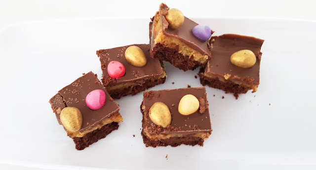 Easter Baking Ideas: Easter Millionaires Shortbread
