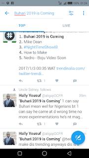 Buhari 2019
