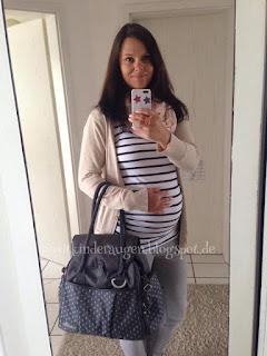 Dajana mit Babybauch
