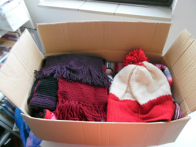 Crocheted Donated Items