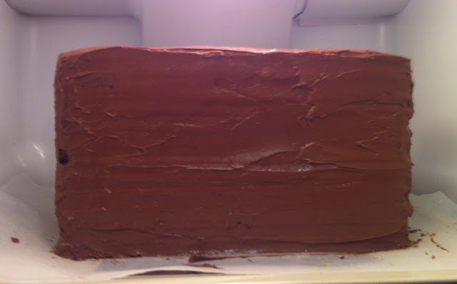 tarta-bolso-loewe, loewe-fondant, cobertura-chocolate