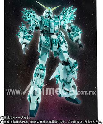 Figura ROBOT SPIRITS SIDE MS Unicorn Gundam Crystal Body Ver. Gundam UC
