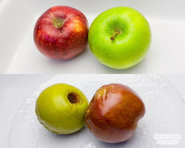 Как запечь яблоки, чтобы они не потрескались?