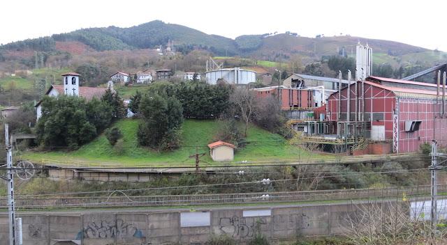 Zona de la antigua fábrica Echevarría