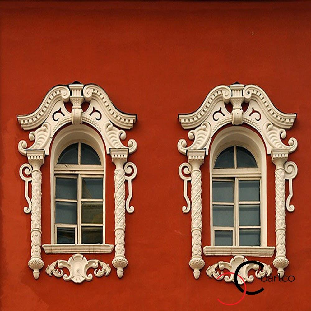 fatade case geamuri exterior cu ornamente din polistiren, incarcate, pret profile decorative din polistiren