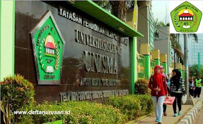 Daftar Fakultas dan Program Studi Universitas Islam 45 Bekasi