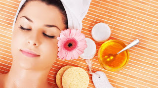 Health and service :: Fairness with honey / Honey face packs for skin glow