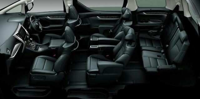 Desain Interior Toyota vellfire