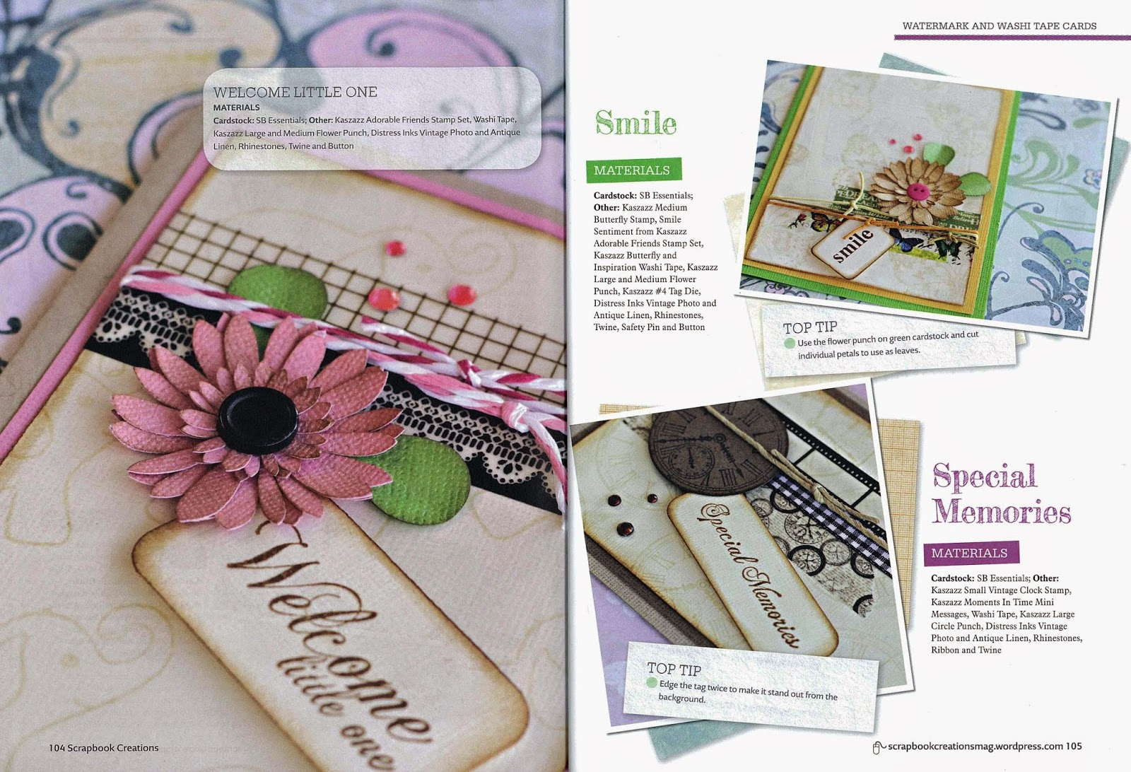 Australian Scrapbook Creations Kaszazz