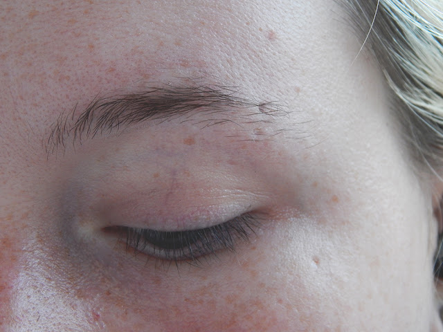 Royalash Studio Review before lash extensions and brow threading