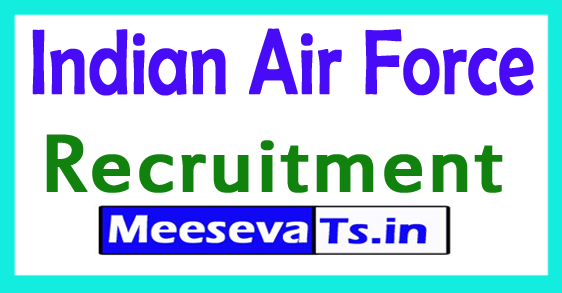 Indian Air Force IAF Recruitment Notification