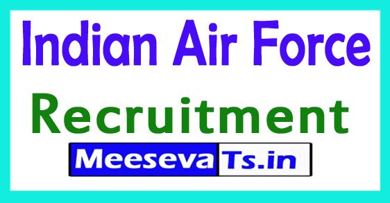 Indian Air Force IAF Recruitment Notification
